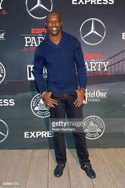 Former NFL player Terrell Owens attends ESPN The Party on February 5 2016 in San Francisco California