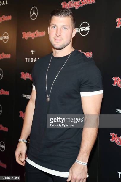 Former NFL player Tim Tebow at Rolling Stone Live Minneapolis presented by MercedesBenz and TIDAL Produced in partnership with Talent Resources...