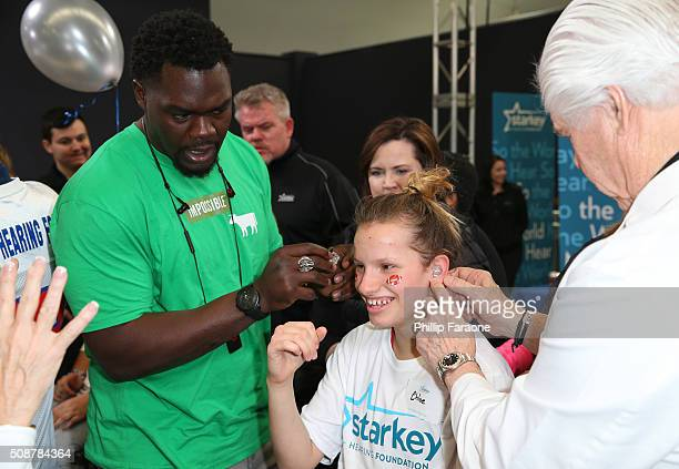 Celebrity Hearing Mission With Starkey Hearing Foundation Super Bowl