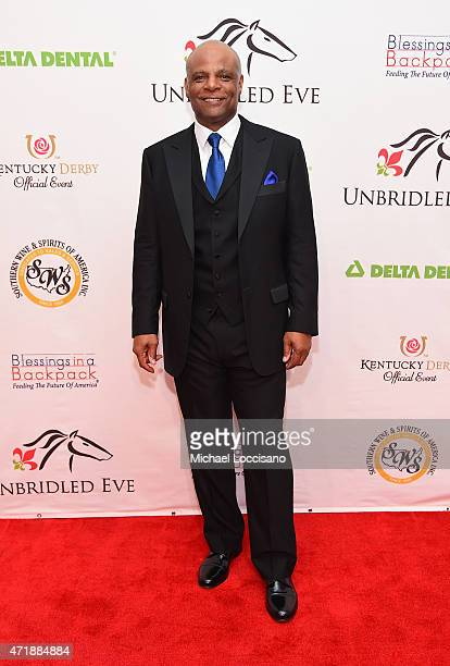 Former NFL player Warren Moon attends the 141st Kentucky Derby Unbridled Eve Gala at Galt House Hotel Suites on May 1 2015 in Louisville Kentucky