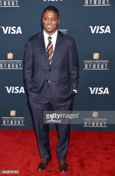 Former NFL player Warrick Dunn attends 6th Annual NFL Honors at Wortham Theater Center on February 4 2017 in Houston Texas