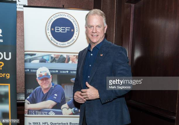 Former NFL Quarterback Boomer Esiason attends the Boomer Esiason Foundation's Annual Refi Rock at Lavo on November 16 2017 in New York City