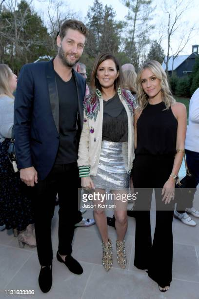 Former NFL quarterback Jay Cutler host Karen Fairchild of Little Big Town and founder of Uncommon James Kristin Cavallari attend an intimate evening...