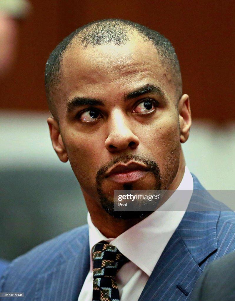Darren Sharper Court Appearance : News Photo