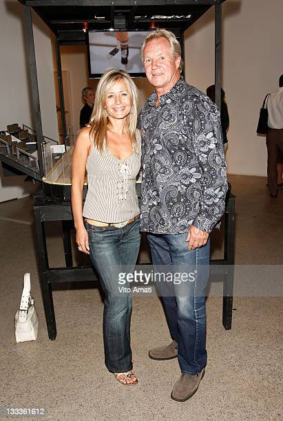 Former NHL Player Darryl Sittler and wife Luba Sittler attend Apitchatpong Weerasethakul Installation 'Phantoms of Nabua' at MOCCA during the 2009...