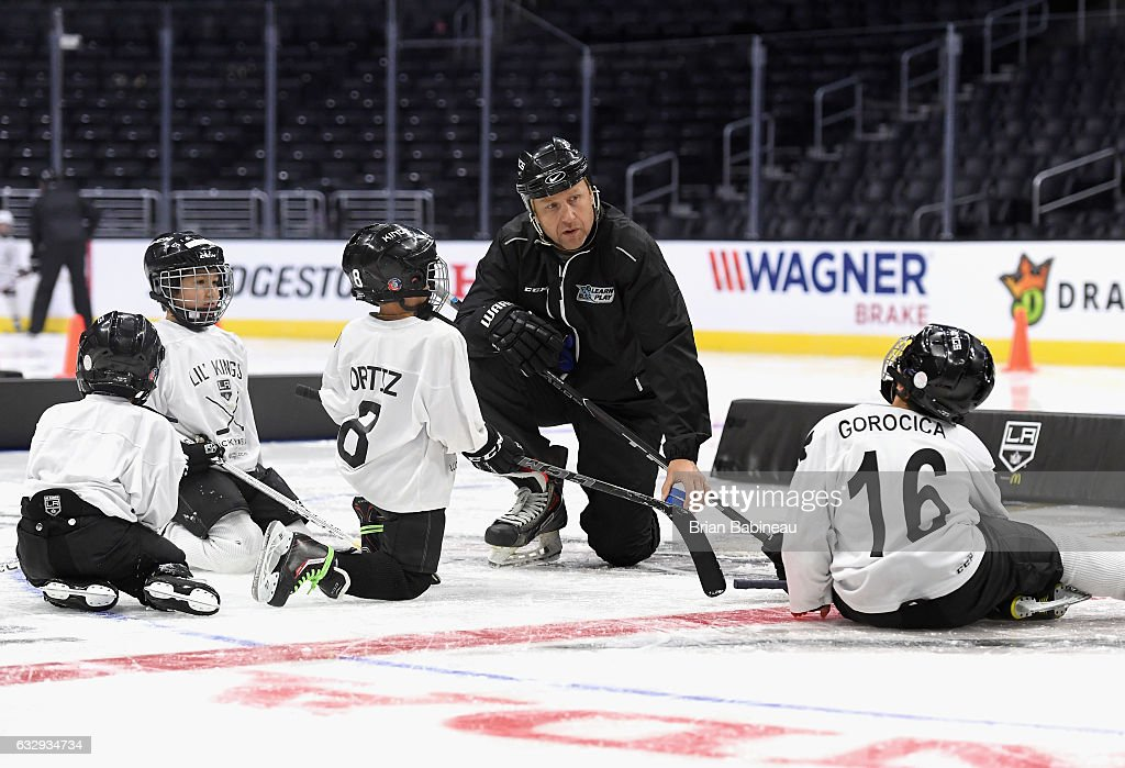 2017 NHL All-Star - NHL/NHLPA Learn To Play Youth Hockey Clinic & Press Conference