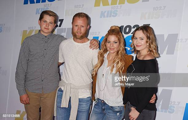 Former NHL player Valeri Bure and actress Candace Cameron-Bure and their children attend the 102.7 KIIS FM's Wango Tango 2016 at the StubHub Center...