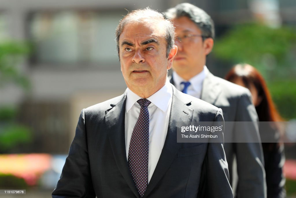 JPN: Former Nissan Chairman Ghosn Attends Pretrial Procedures