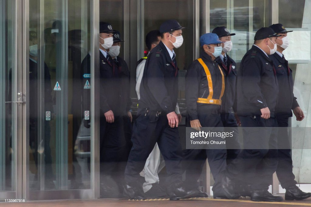 Carlos Ghosn Granted Bail After Being Charged For Financial Misconduct : News Photo