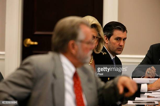 Former North Charleston police officer Michael Slager listens to testimony during his trial in Charleston County Court November 15, 2016 in...