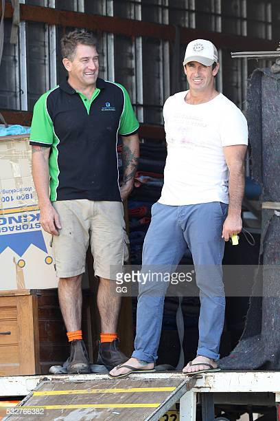 Former NRL Player Andrew Johns moves into his recently purchase property in Bronte on May 19 2016 in Sydney Australia