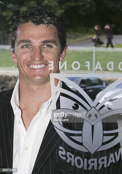 Former NRL player Ivan Cleary poses after a press conference where he was named Head Coach of the Warriors September 8 2005 in Auckland New Zealand...