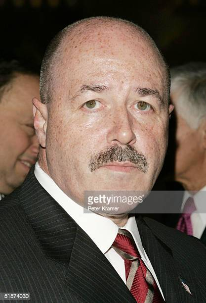 Former NY Police Commissioner Bernard Kerik attends the 16th Annual Women of the Year Luncheon on October 26, 2004 in New York City.