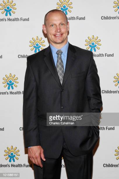 Former NY Ranger Adam Graves attends the 2010 Children's Health Fund Benefit Gala at The Hilton New York on June 2 2010 in New York City