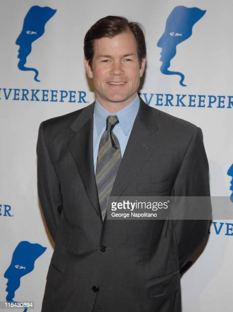 Former NY Rangers Goalie Mike Richter during Riverkeeper Hosts a Gala Benefit Dinner Honoring Hearst Corporation April 19 2007 at Chelsea Piers in...