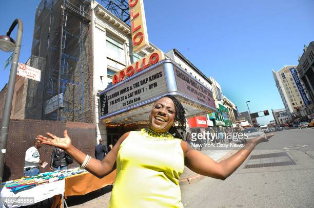 Former NYC Corrections Officer Sharon Jones is now a singer and will be performing at the Apollo Theater in Harlem at the end of the month.