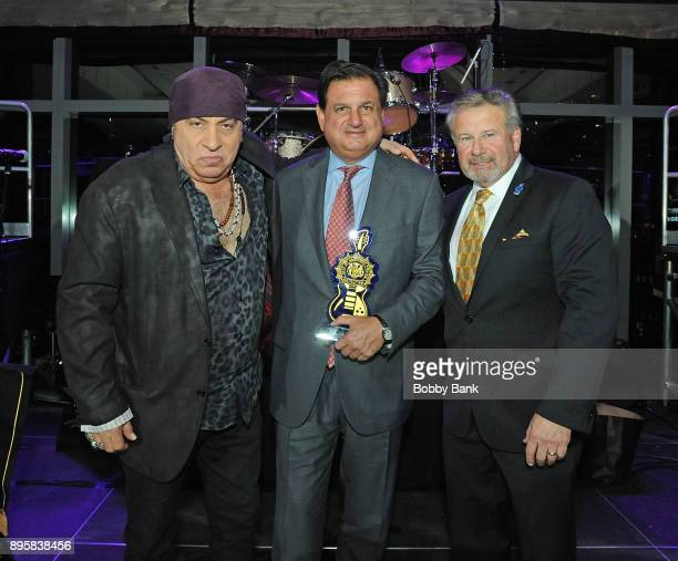 Former NYPD Detective Kevin Schroeder Steven Van Zandt and Ralph Andretta attend the 3rd Annual Little Steven's Policeman's Ball at Mandarin Oriental...