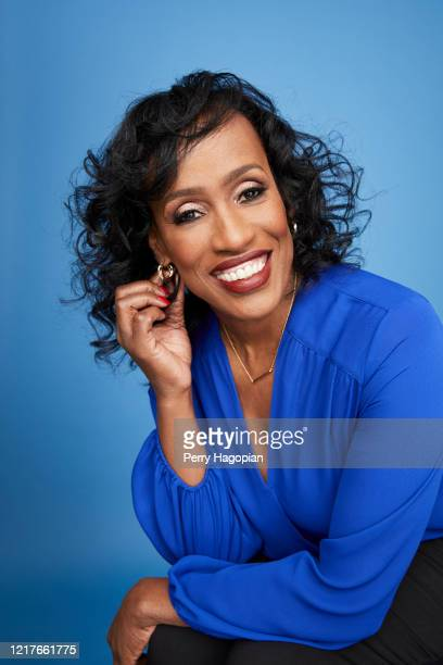 Former Olympian Jackie Joyner-Kersee is photographed for People Magazine on March 15, 2019 in New York City.