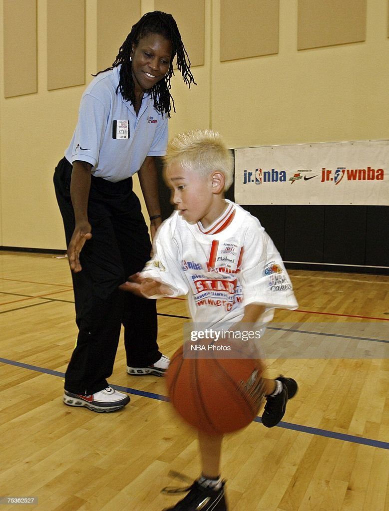 NBA JUNIOR CLINIC : News Photo