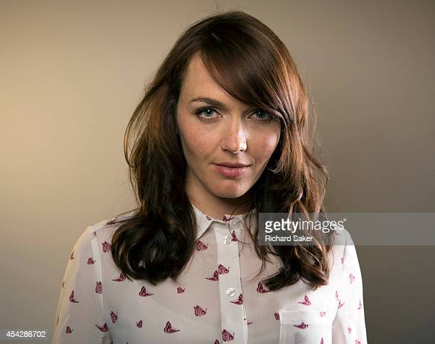 Former Olympic and world champion track cyclist Victoria Pendleton is photographed for the Observer on June 5 2014 in London England