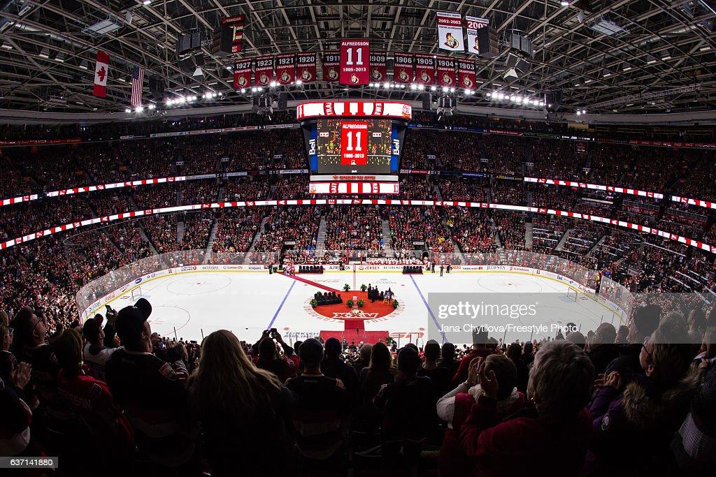 Detroit Red Wings v Ottawa Senators : News Photo