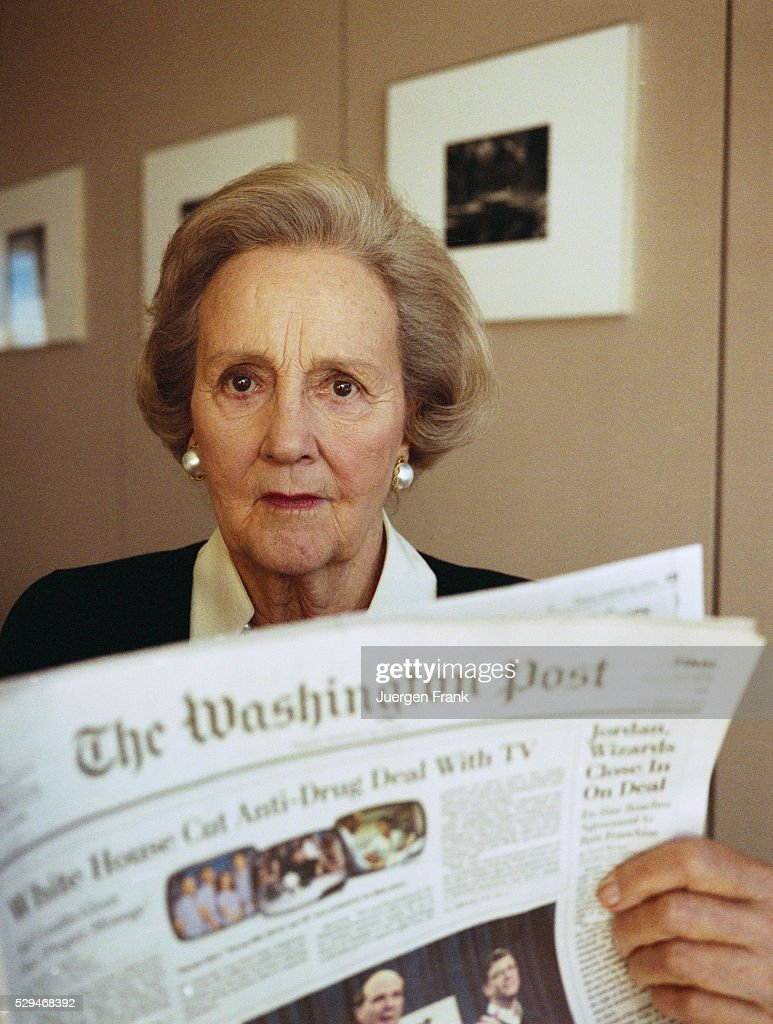 In profile: Publisher Katharine Graham