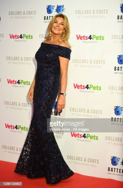 Former page 3 girl Jilly Johnson arrives for the Battersea Dogs amp Cats Home Collars amp Coats Gala Ball 2018 at the Battersea Evolution London