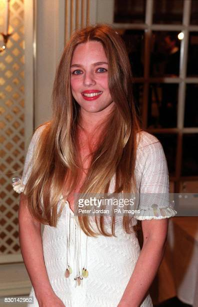 Former Page 3 girl Suzanne Mizzi at the Rudolph Valentino Awards at the Grosvenor House Hotel London The awards commemorate the Italianborn actor and...