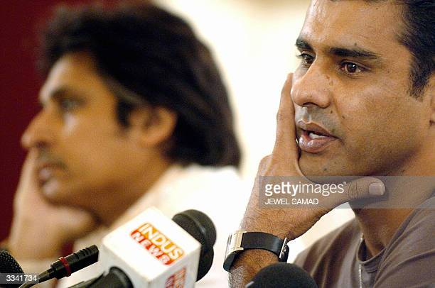 Former Pakistan cricket team captain and pace bowler Waqar Younis announces his retirement from international cricket as Pakistan Cricket Board Chief...