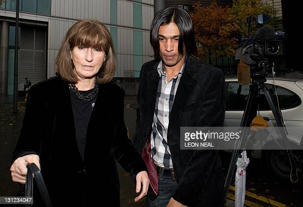 Former Pakistani cricketer Mohammad Aamer arrives at Southwark Crown Court in London on November 3 2011 Aamer was jailed for 6 months Thursday for...