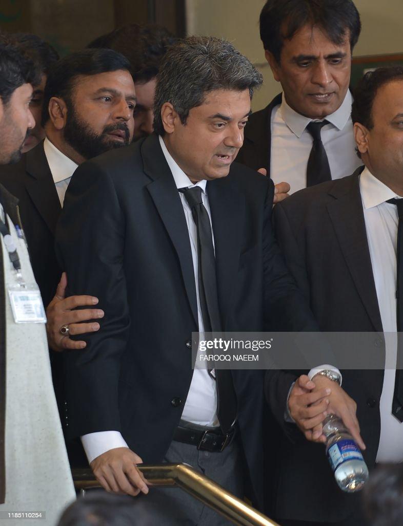 PAKISTAN-MILITARY-COURT : News Photo