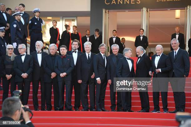 Former Palme D'Or winners Jane Campion Ken Loach Michael Haneke CostaGavras Cristian Mungiu Nanni Moretti David Lynch Bille August Claude Lelouch...