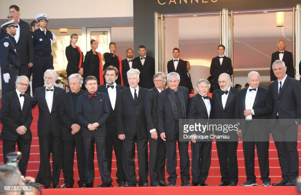 Former Palme D'Or winners Ken Loach Michael Haneke CostaGavras Cristian Mungiu Nanni Moretti David Lynch Bille August Claude Lelouch Roman Polanski...