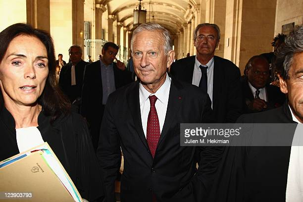 Former Paris mayor chief of staff Michel Roussin attends the former President Jacques Chirac trial opening on September 5 2011 in Paris France The...