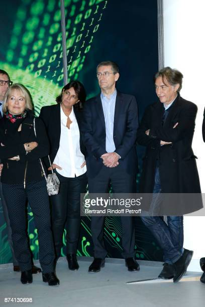 Former Paris Police Prefect Martine Monteil Valerie Expert 'Commissaire Divisionnaire' Frederic Pechenard and Sponsor of the 2018 Prize Richard Berry...