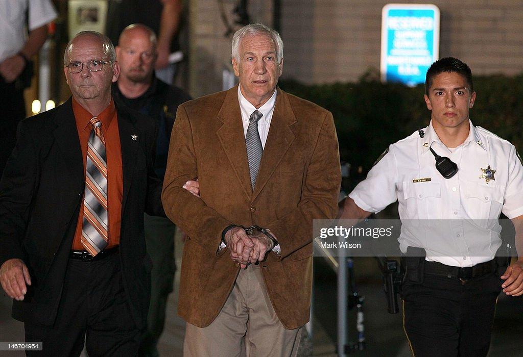 Jury Deliberates In Sandusky Child Molestion Trial : News Photo