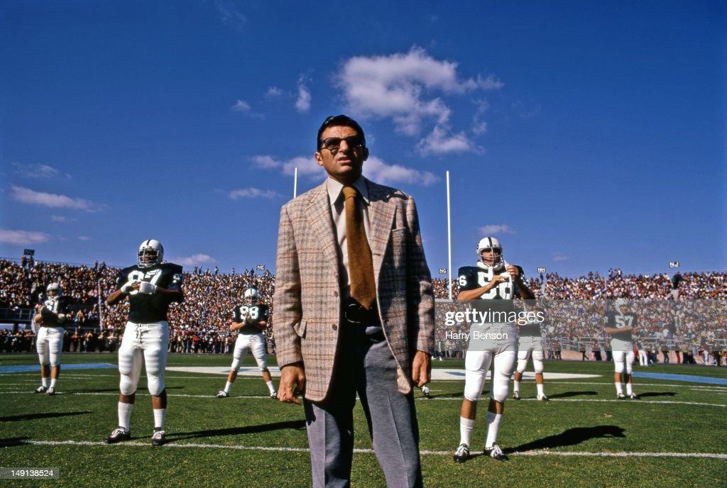 Joe Paterno, at Penn State, 1973