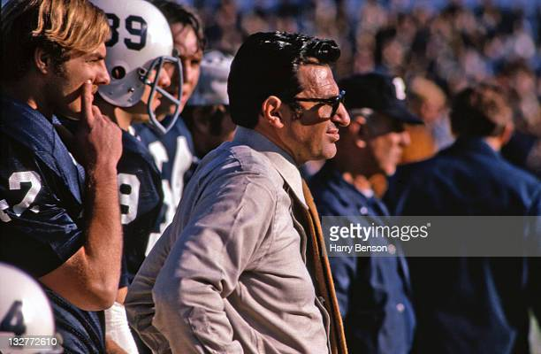 Former Penn State coach Joe Paterno is photographed in 1973 at State College Pennsylvania