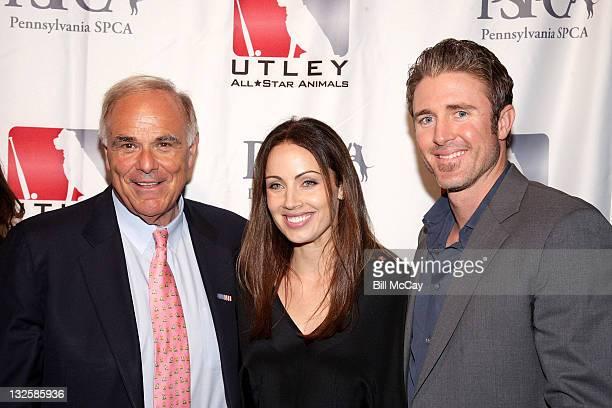 Former Pennsylvania Govenor Ed Rendell Jennifer Utley and Philadelphia Phillies Chase Utley attend The 4th Annual Utley AllStar Animals Casino Night...
