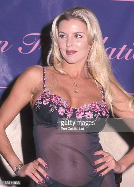 Former Penthouse Pet Amy Lynn Baxter attends the Penthouse Pets Fashion Show to Benefit the Keeton Foundation for Cancer Research on February 15 2000...