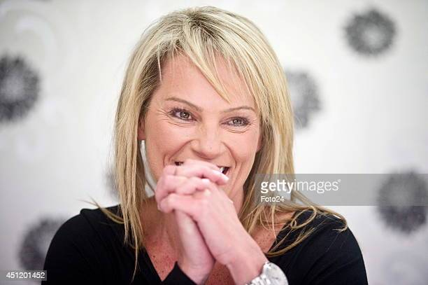 Former personal assistant to Nelson Mandela Zelda la Grange during an interview on June 2 2014 in Johannesburg South Africa La Grange in her book...