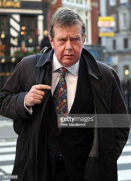 Former personal protection officer to the Princess of Wales Ken Wharfe arrives at The High Court on December 12 2007 in London The inquest into the...