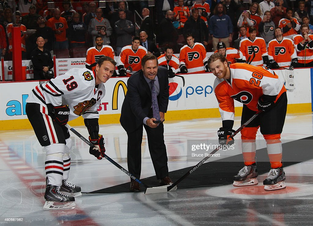 Chicago Blackhawks v Philadelphia Flyers : News Photo