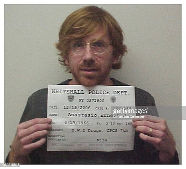 Former Phish frontman Trey Anastasio was arrested in December 2006 by upstate New York cops for driving while intoxicated and illegal possession of a...