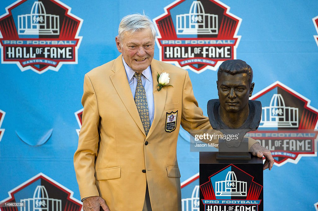 2012 Pro Football Hall of Fame Enshrinement : News Photo