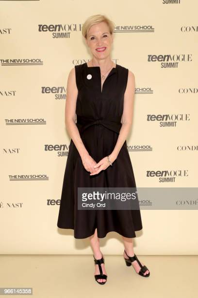 Former Planned Parenthood President Cecile Richards attends Teen Vogue Summit 2018 #TurnUp Day 2 at The New School on June 2 2018 in New York City