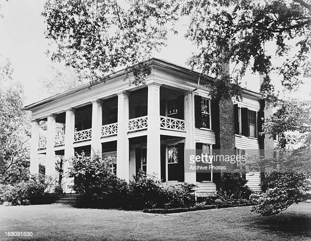 Former plantation house Arlington Antebellum Home and Gardens Birmingham Alabama circa 1965