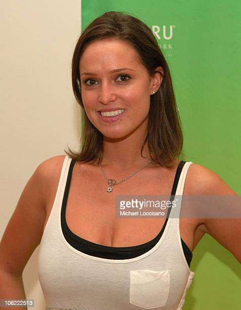 Former Playboy Playmate Lindsey Vuolo attends Gen Art's SHOP NYC at the Metropolitan Pavilion on July 30 2008 in New York City