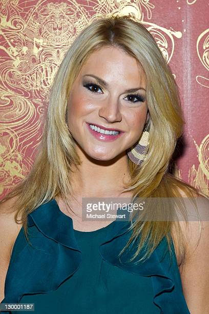 Former Playboy Playmate Shannon Marie attends Lindsey Vuolo's 30th birthday celebration at the Hurricane Club on October 22 2011 in New York City