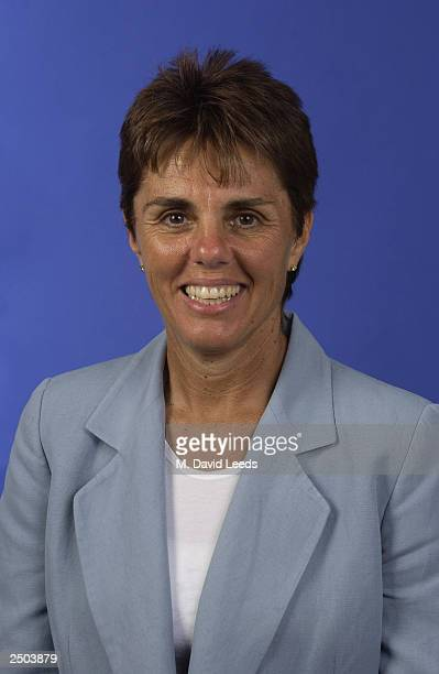 Former player Ilana Kloss of South Africa poses for a portrait during the US Open at the USTA Tennis Center on August 24 2003 in Flushing Meadows New...